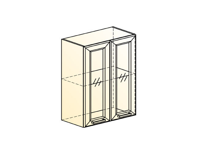 Шкаф навесной L600 Н720 (2 дв. рам.)