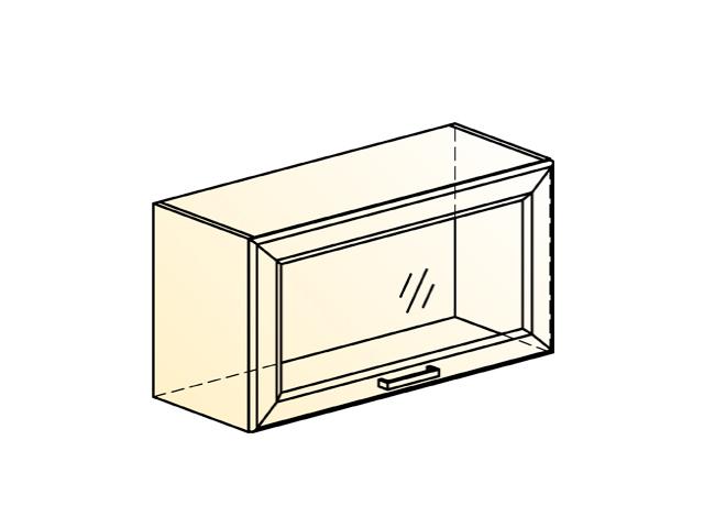Шкаф навесной L800 Н360 (1 дв. рам.)