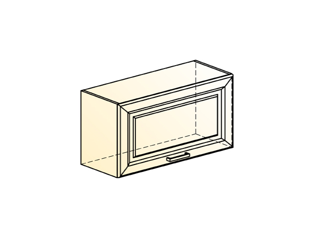 Шкаф навесной L800 Н360 (1 дв. гл.)