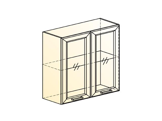 Шкаф навесной L800 Н720 (2 дв. рам.)