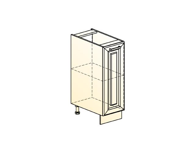 Шкаф рабочий L200 (1 дв. гл.)