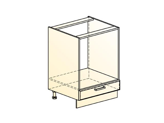 Шкаф рабочий под духовку L600 (1 ящик)