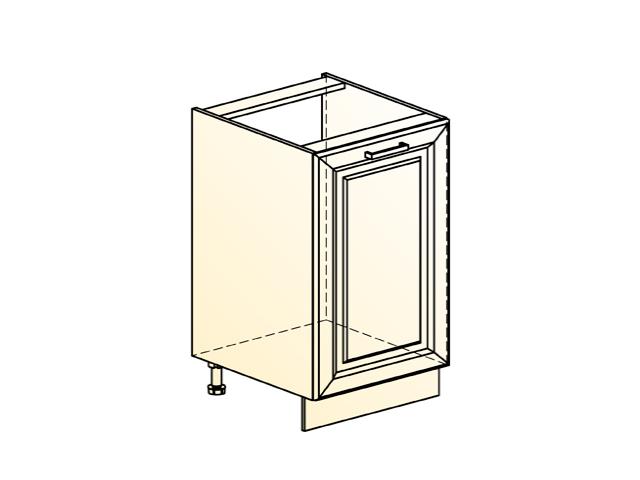 Шкаф рабочий под мойку L500 (1 дв. гл.)