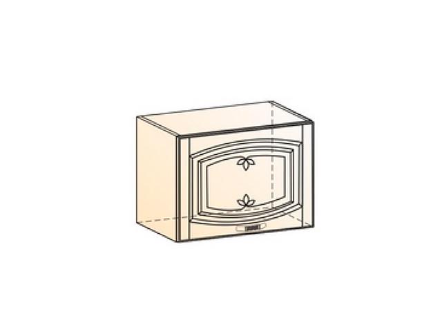 Шкаф навесной L500 H360 (1 дв. гл.)