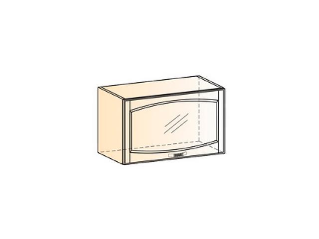 Шкаф навесной L600 H360 (1 дв. рам.)