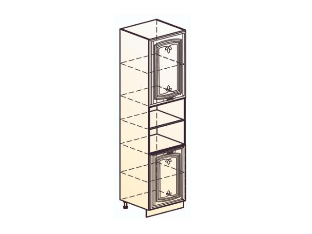 Шкаф-пенал L600 H2141 (2 дв. гл.)