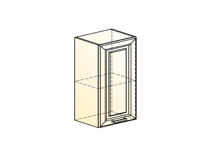 Шкаф навесной L450 Н720 (1 дв. гл.) (эмаль)