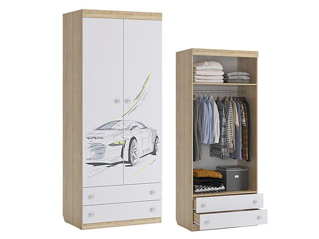 Шкаф комбинированный (с ящ. 2-ств.) MKF-01