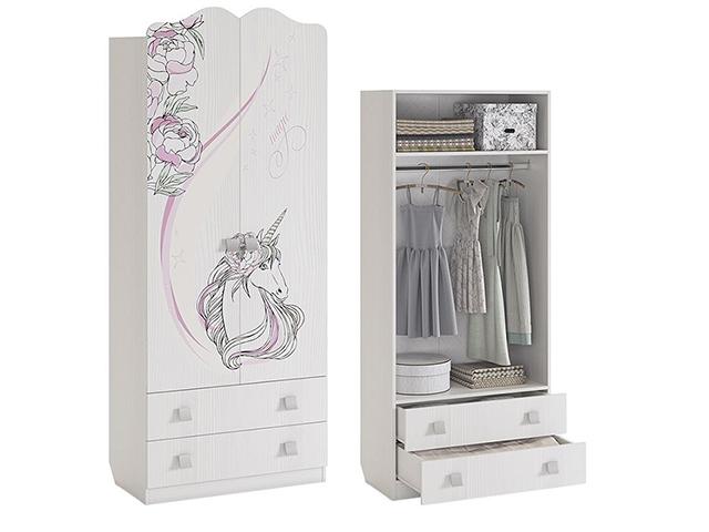 Шкаф комбинированный 2-ств