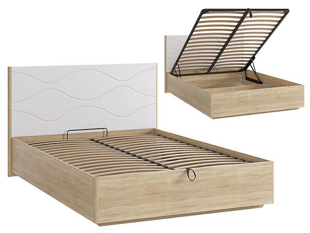 Кровать 1400 Люкс с ПМ