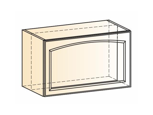 Шкаф навесной под вытяжку рамочный L600 Н360